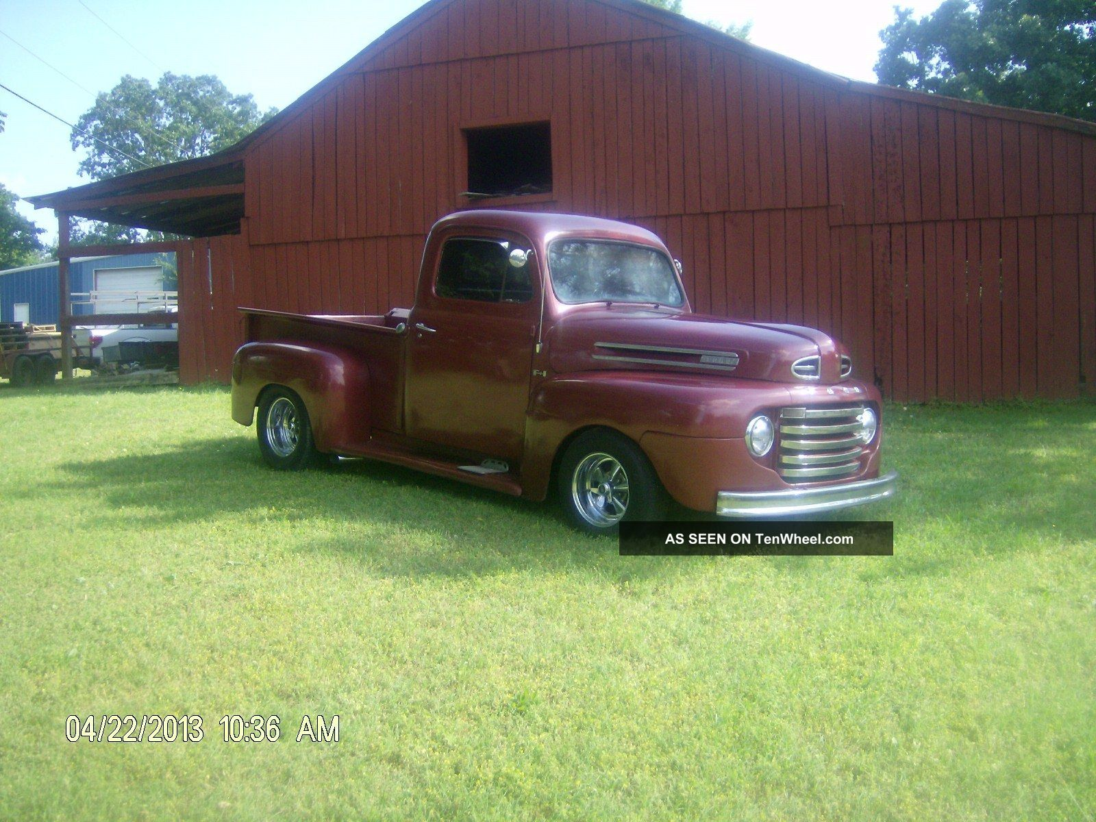 1949 Ford F1 350 Engine And 350 Turbo Transmission Other Pickups photo