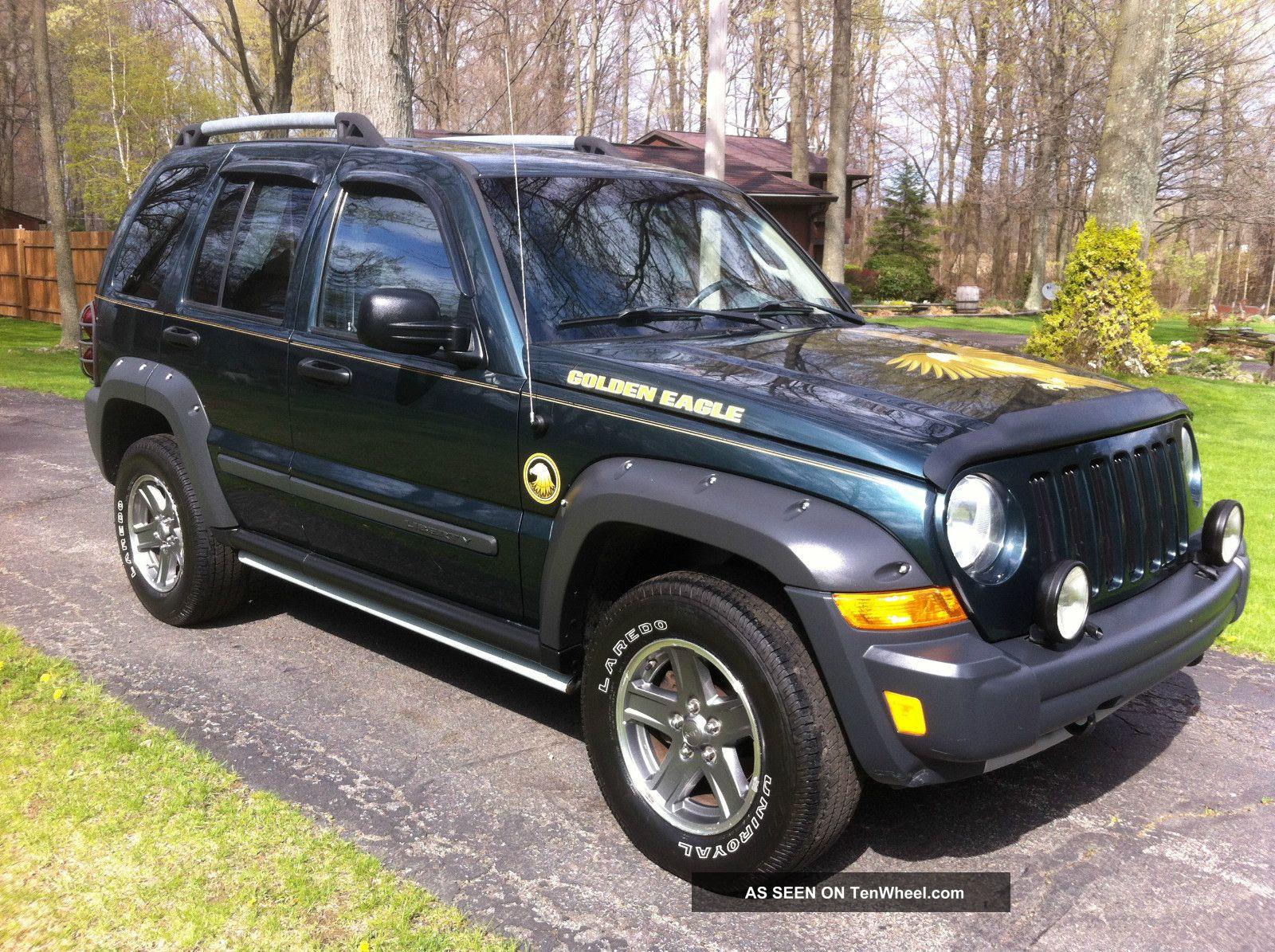 2005 Jeep Liberty Renegade Sport Utility 4 Door 3 7l