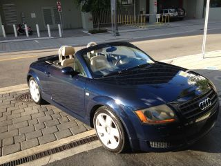 2005 Audi Tt Base Convertible 2 - Door 1.  8l photo
