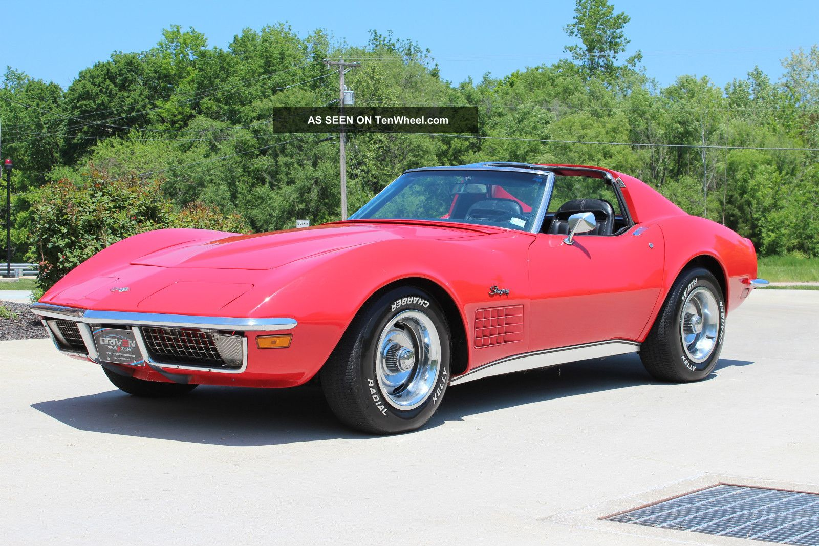 1971 Chevrolet Corvette Stingray, 350 V8, Ps, Pb, Pw, S Match, Ac ...