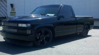 1990 Ss 454 Chevy C1500 Street Truck Custom 2wd photo