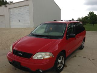 2001 Ford Windstar Se Sport Mini Passenger Van 4 - Door 3.  8l photo