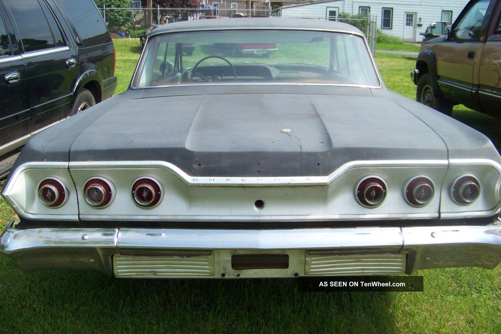 1963 chevy impala 4 door sport sedan impala photo 8