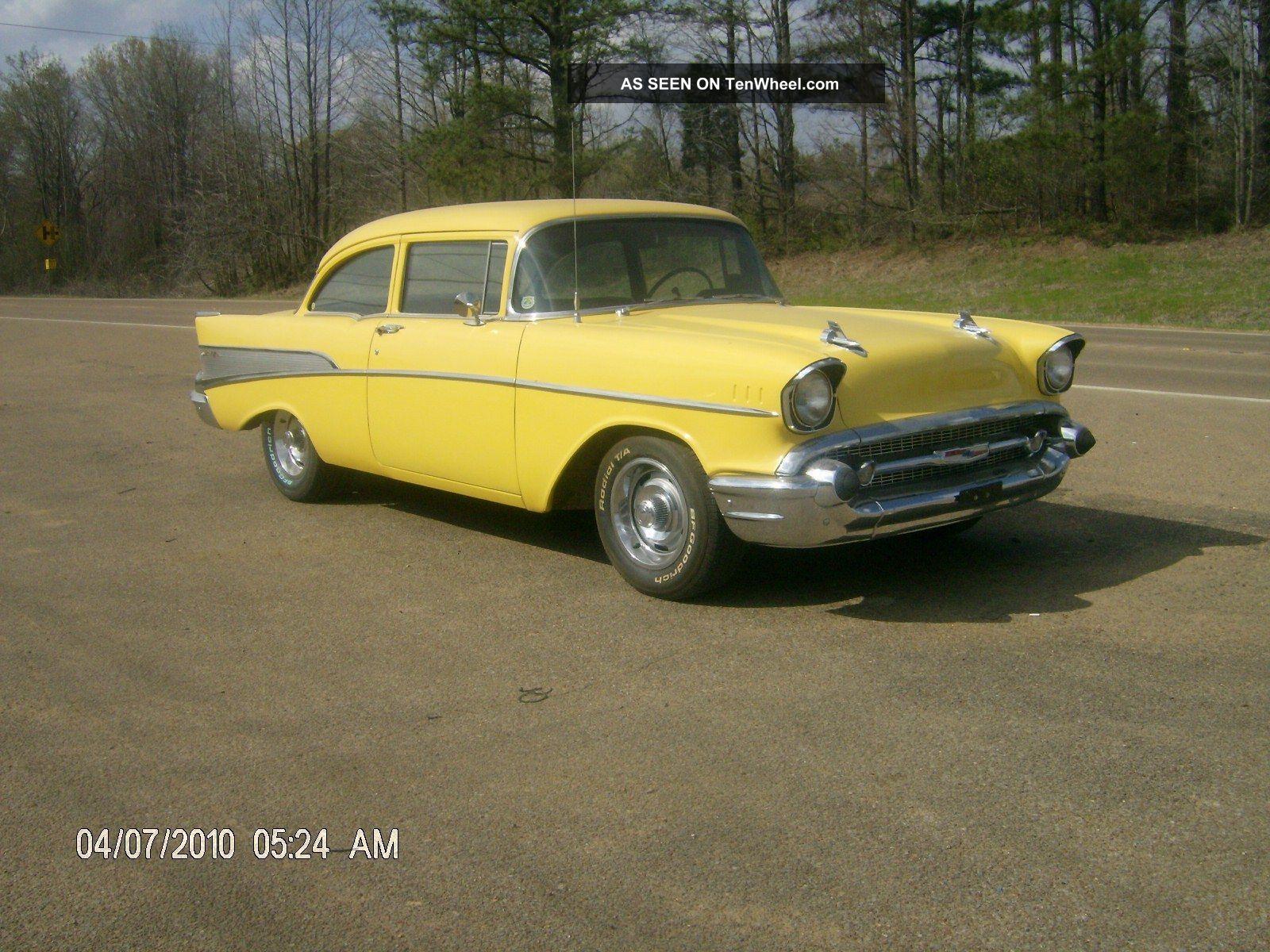 1957 chevrolet bel air 2 door sedan post for 1957 chevy belair 2 door post