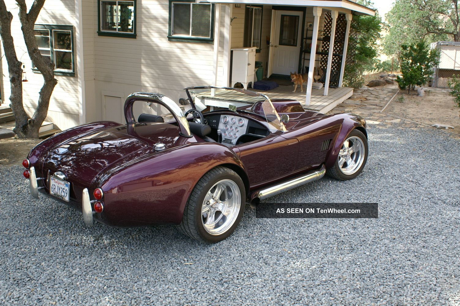 Custom Cobra Roadster - 1965 Ford Cobra Replica Replica/Kit Makes photo