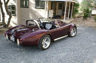 Custom Cobra Roadster - 1965 Ford Cobra Replica photo