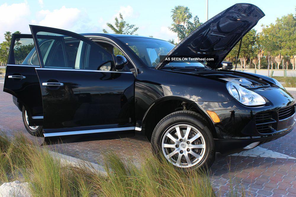 2005 Porsche Cayenne Black On Black