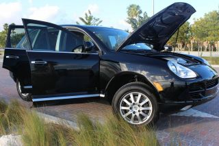 2005 Porsche Cayenne Black On Black