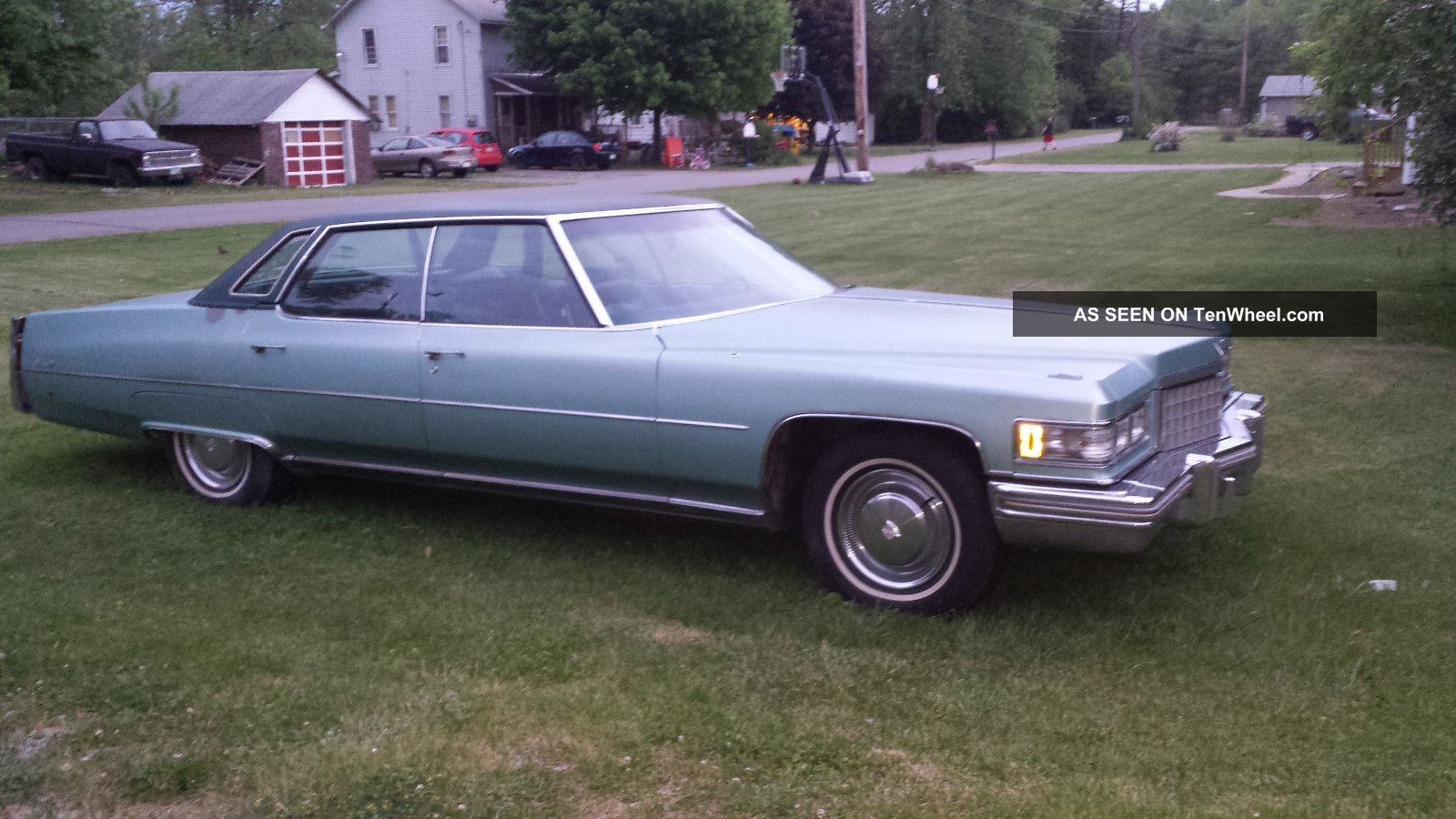 1976 Cadillac Deville Base Sedan 4 - Door 8.  2l DeVille photo