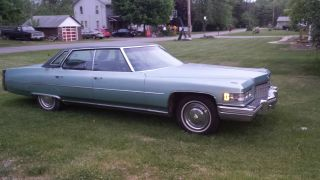 1976 Cadillac Deville Base Sedan 4 - Door 8.  2l photo