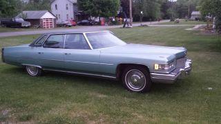 1976 Cadillac Deville Base Sedan 4 - Door 8.  2l photo