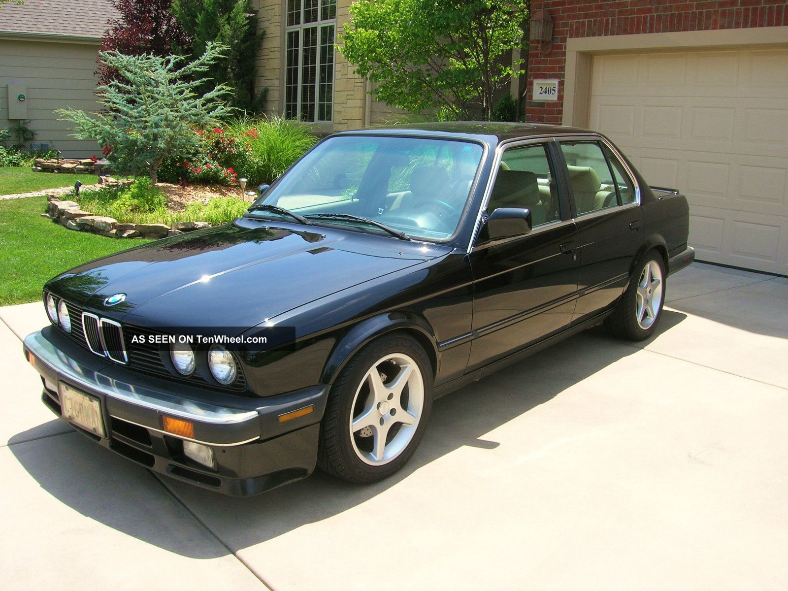1987 Bmw 325 Base Sedan 4 - Door 2.  7l 3-Series photo