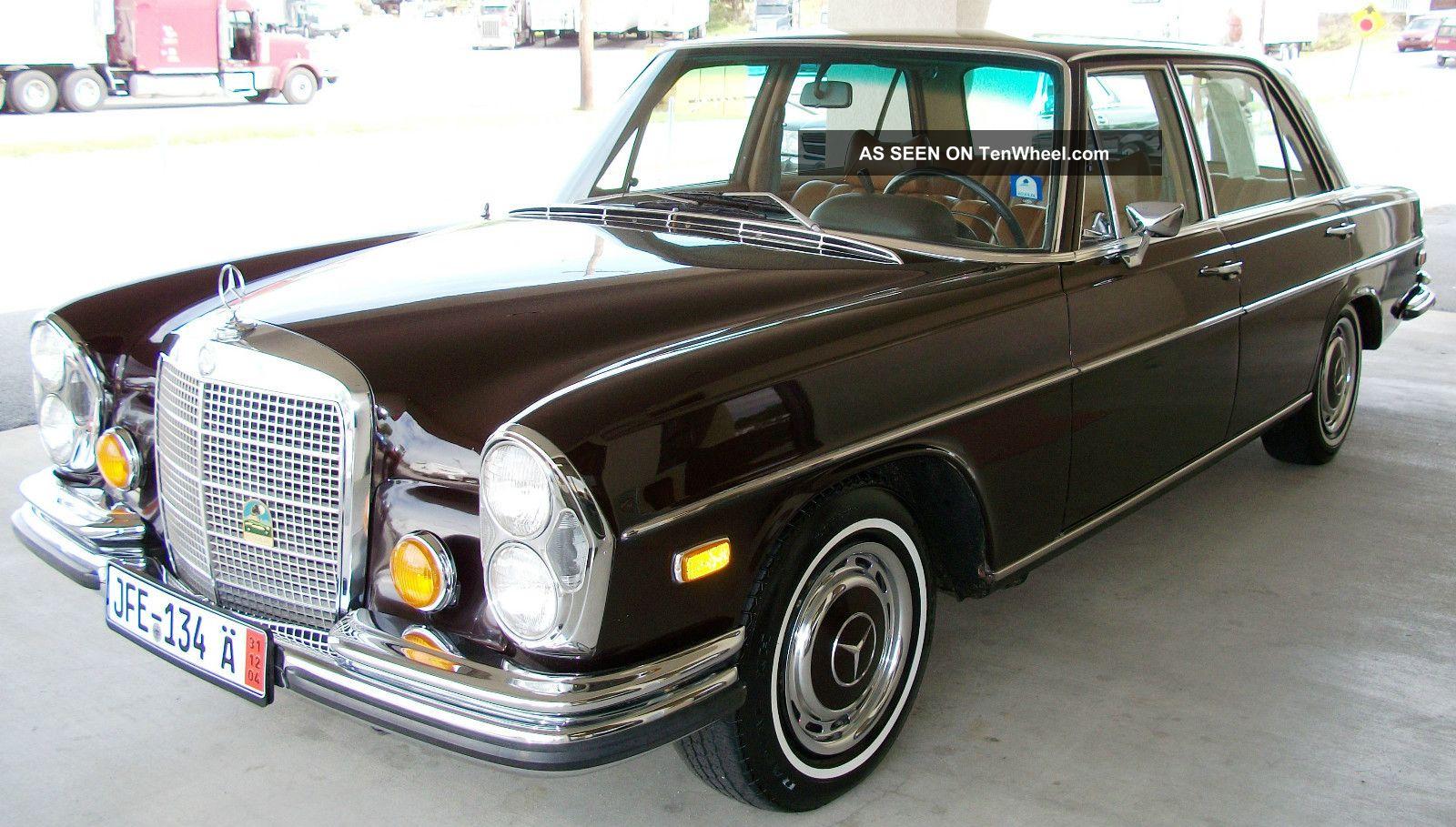 1970 mercedes benz 280 sel 200 series photo