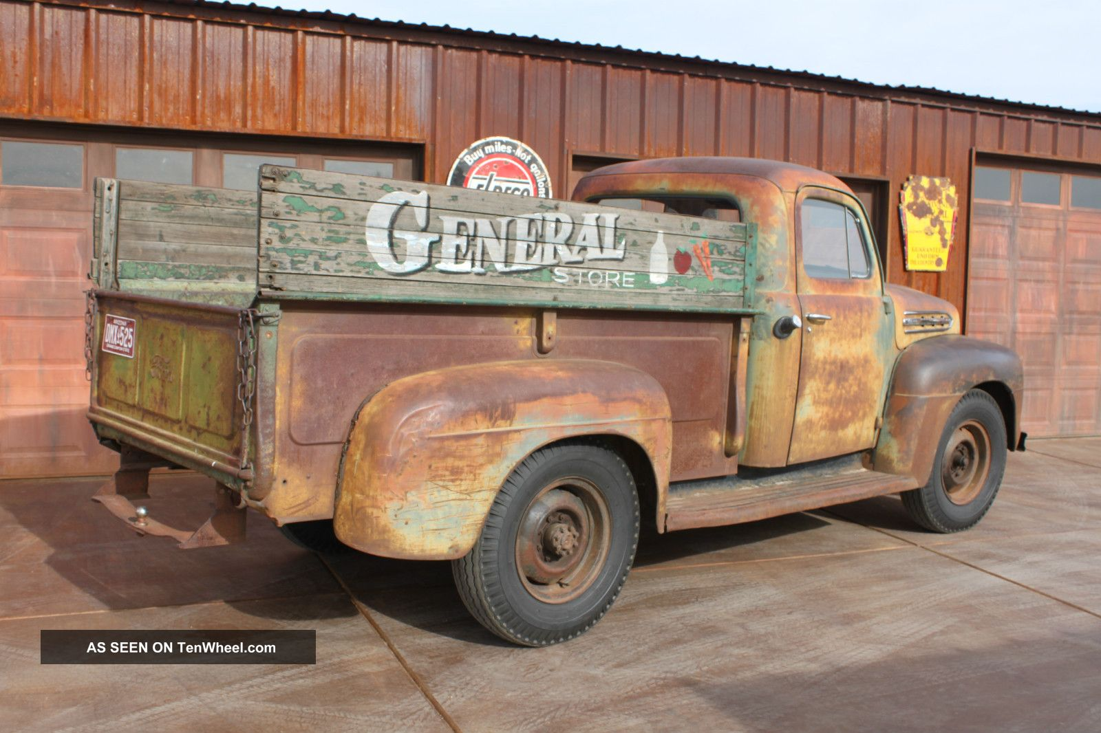 1952 Ford F - 3 Barn Find Survivor Patina Finish Pickup With Flat Head V8 Other Pickups photo