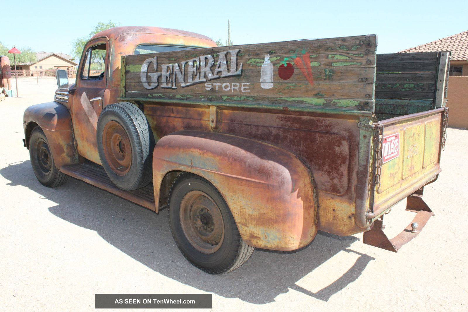 1952 Ford F - 3 Barn Find Survivor Patina Finish Pickup With