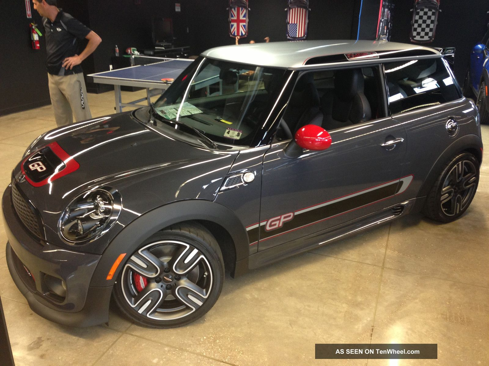2013 John Cooper Works Gp 1 - 500 In The Us Ever Don ' T Miss Cooper S photo