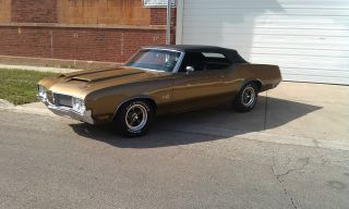 1970 Olds Cutlass Supreme Sx Convertible With 442 Badging photo