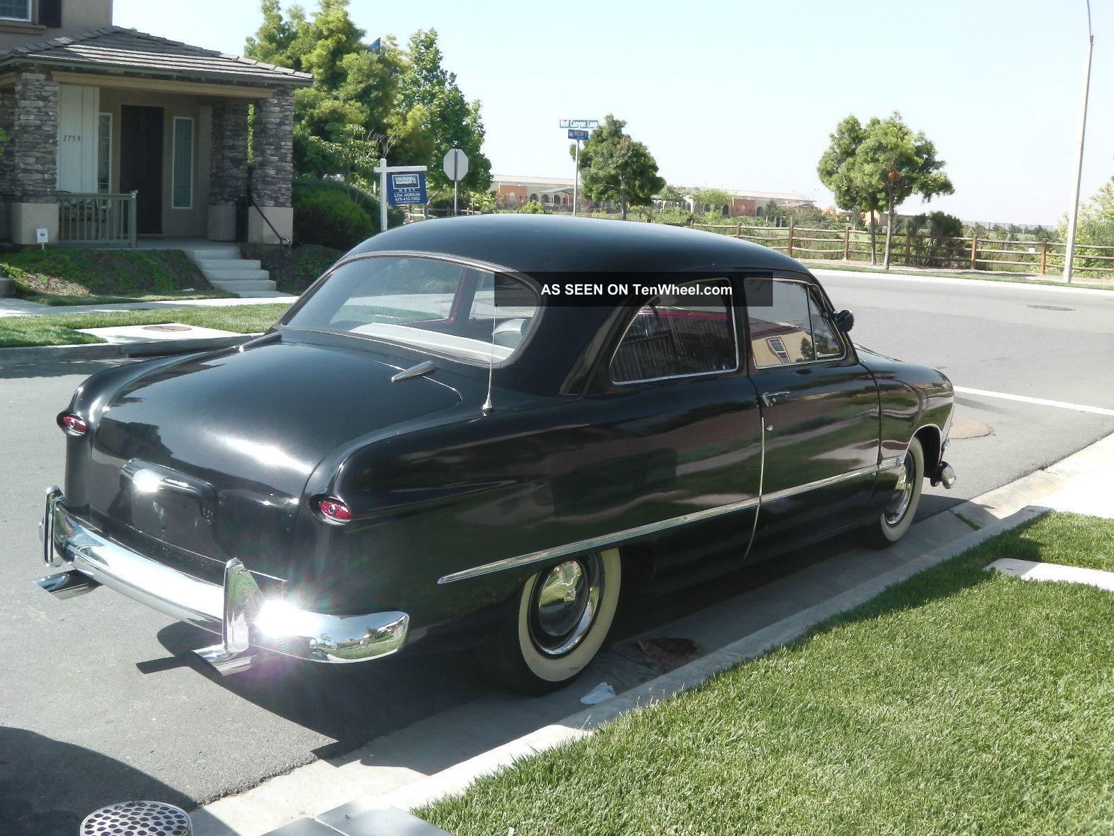 1950 ford custom tudor sedan shoebox hot rod streetrod. Black Bedroom Furniture Sets. Home Design Ideas