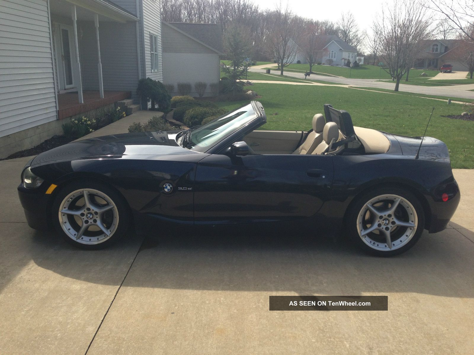 2006 Bmw Z4 Roadster 3 0si Convertible 2 Door 3 0l