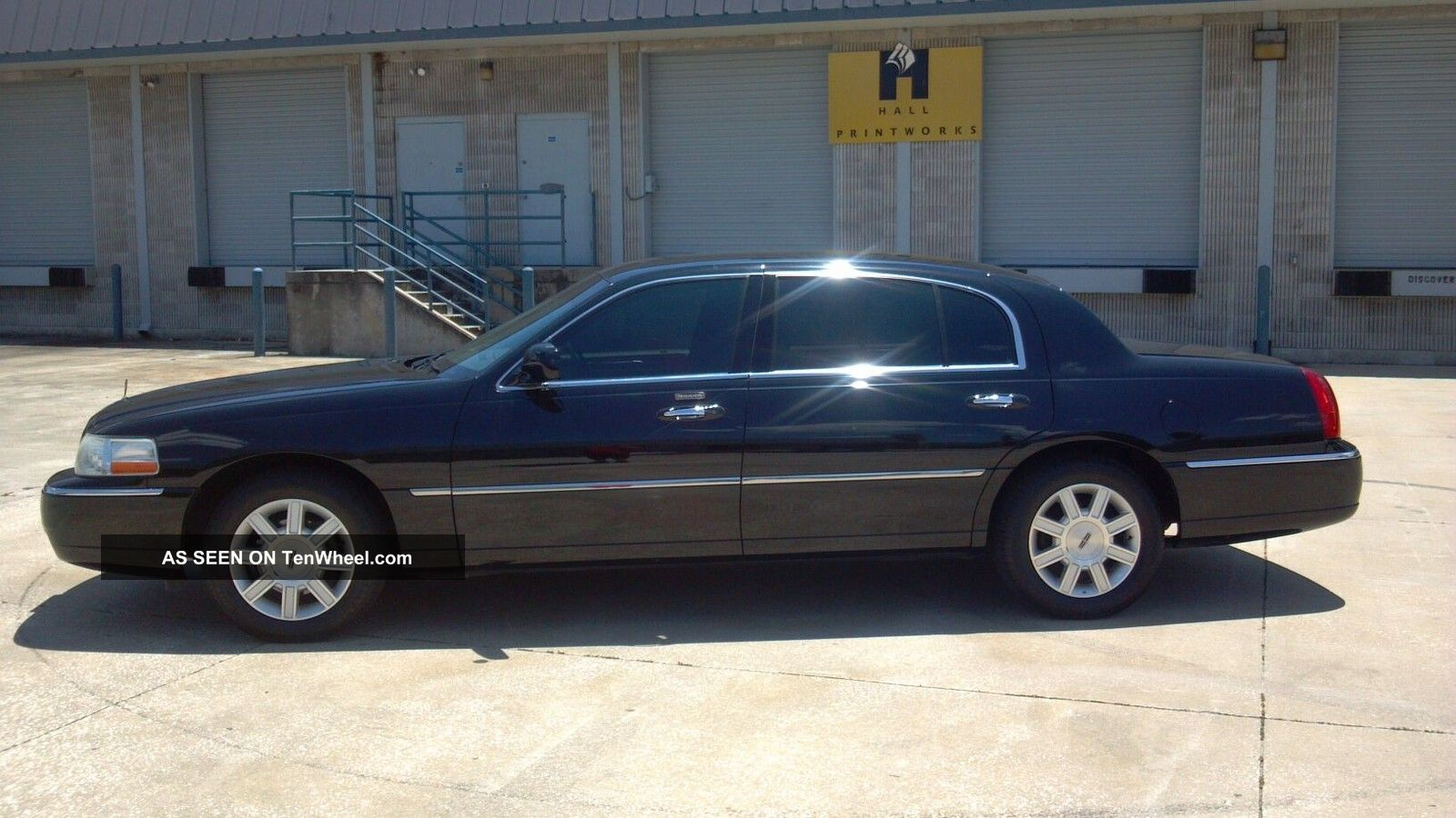 2007 Lincoln Town Car Executive L Sedan 4 Door 4 6l