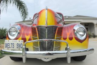 1940 Ford Deluxe Coupe Street Rod photo