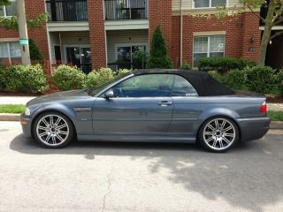 2003 Bmw M3 Base Convertible 2 - Door 3.  2l photo