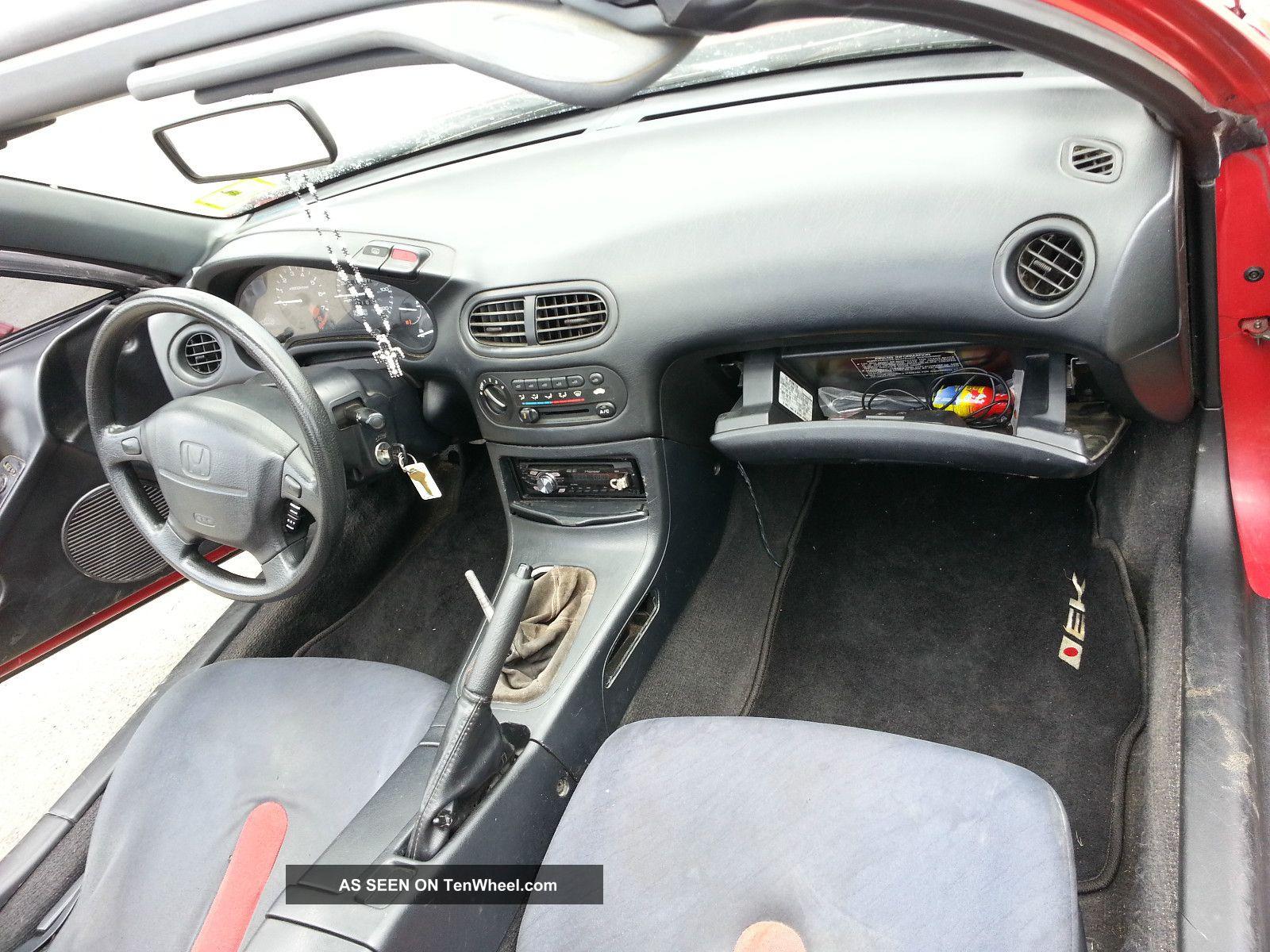 1993 Honda Civic Del Sol Si Coupe 2 Door 1 6l