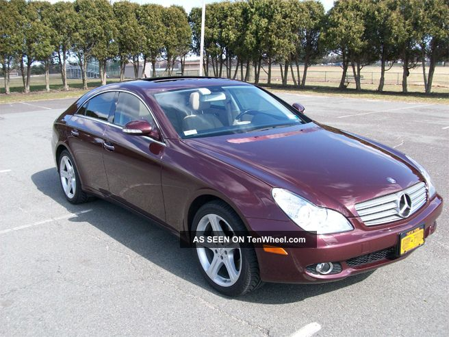 2007 Mercedes Cls550 55k Mi,  Barolo Red / Tan Interior 2nd Owner,  Exclnt Cond CLS-Class photo