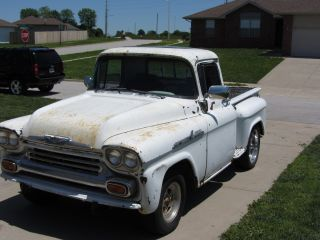 1958 Chevrolet Apahce Short Bed Step Side Truck photo