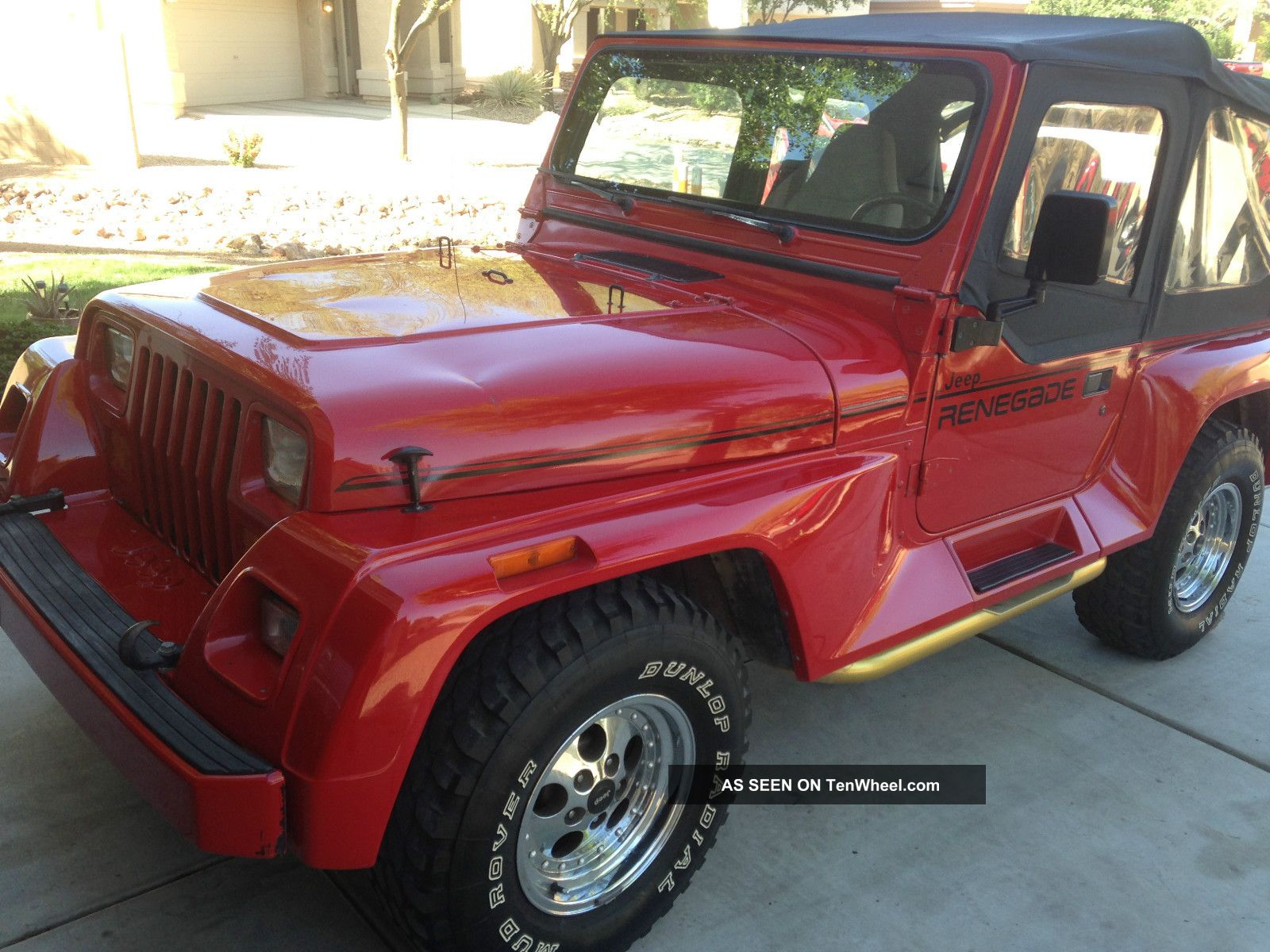 1994 Jeep Wrangler Renegade Sport Utility 2 - Door 4.  0l Wrangler photo
