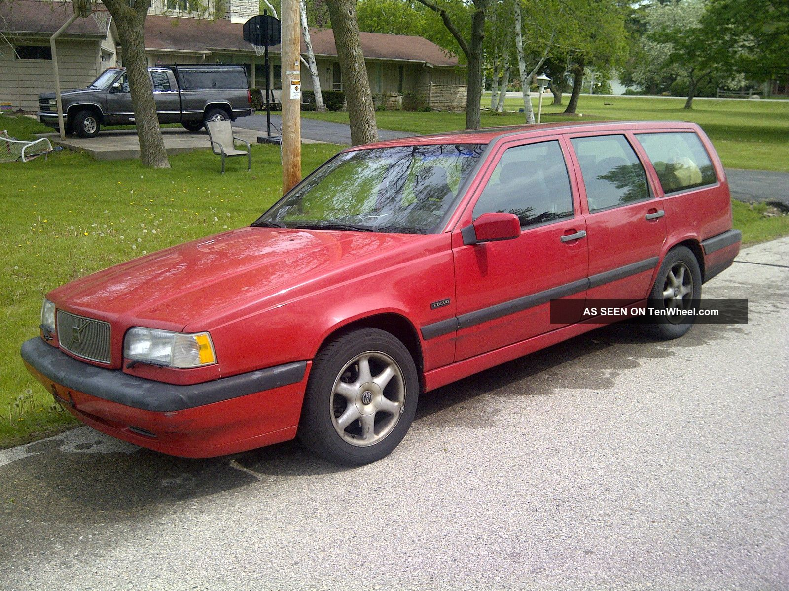1997 Volvo 850 Glt Wagon 4 - Door 2.  4l - W / Oil Leak And Needs Suspension Work 850 photo
