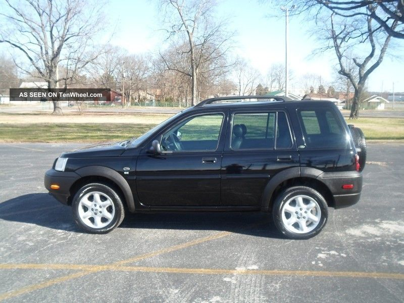 2003 Land Rover Freelander Se Awd.