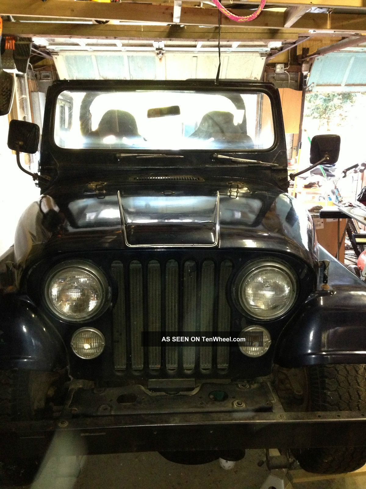 1979 Jeep Cj5 Base Sport Utility 2 - Door 4.  2l CJ photo