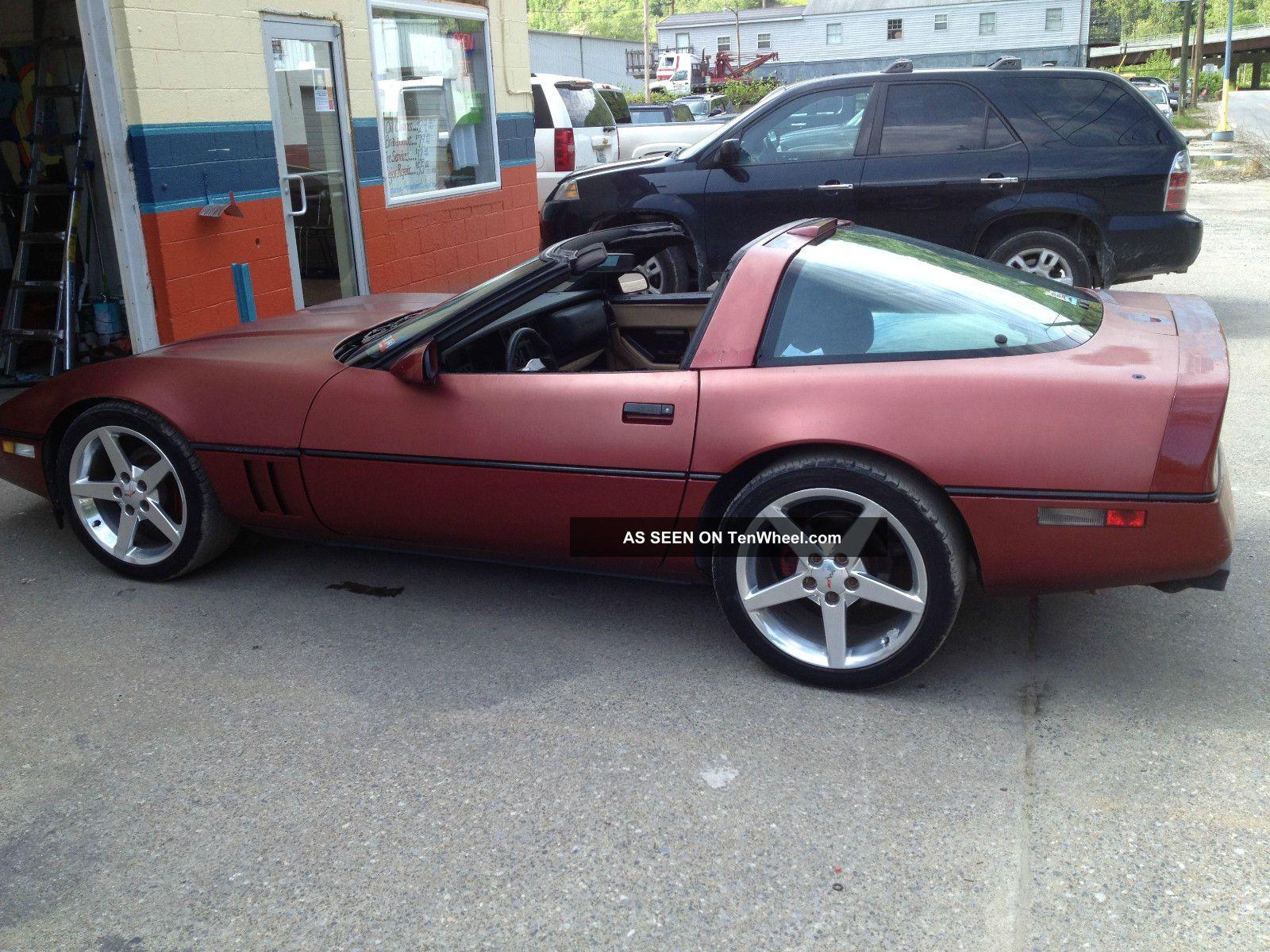 1987 Chevrolet Corvette Corvette photo