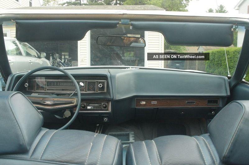 1972 Ford Ltd Base Convertible 2 Door 5 0l