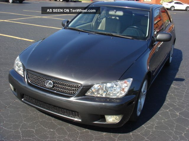 2003 Lexus Is300 Sedan 4 - Door 3.  0l, , IS photo