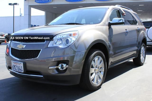 2011 Chevrolet Equinox Ltz Sport Utility 4 - Door 2.  4l - Title Equinox photo
