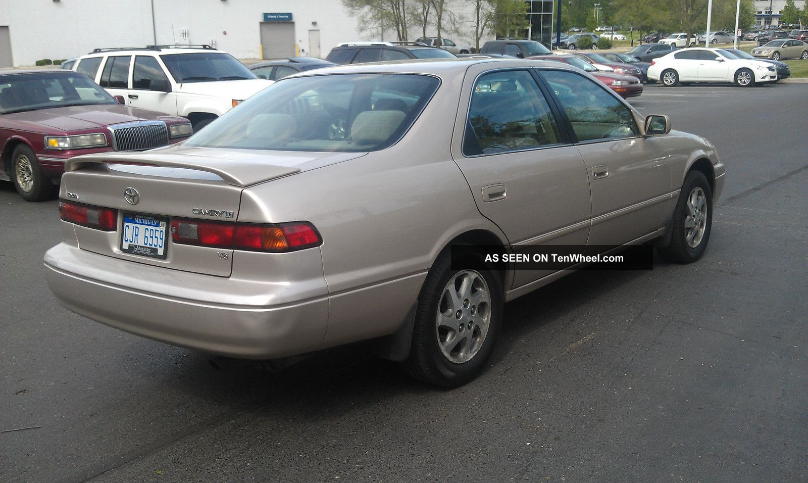 1999 toyota camry le 6 cyl 3 0l just detailed good to. Black Bedroom Furniture Sets. Home Design Ideas