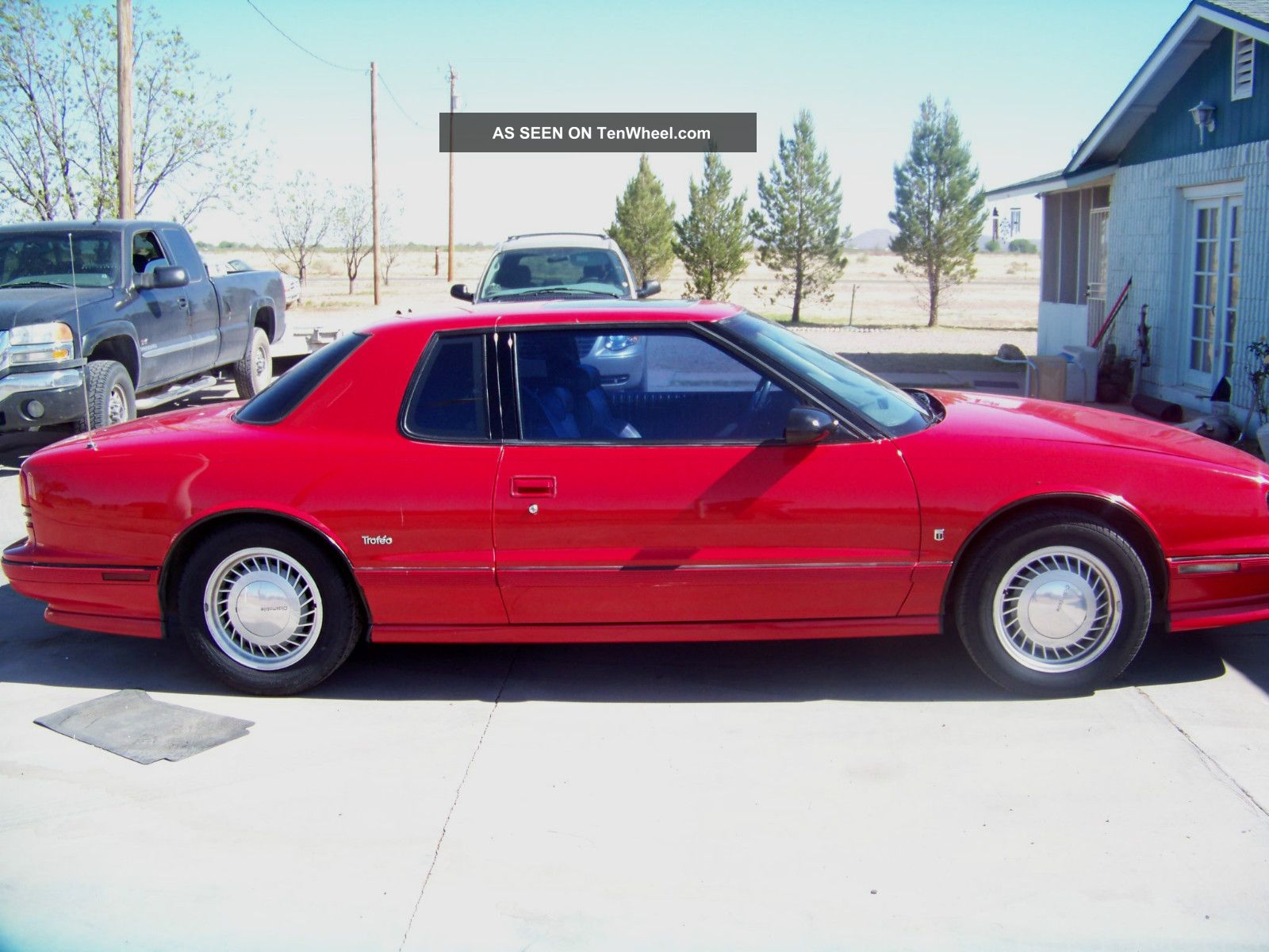 1990 Oldsmobile Trofeo Ready For The Drive Home 25 / 28 Mpg 1st Bid