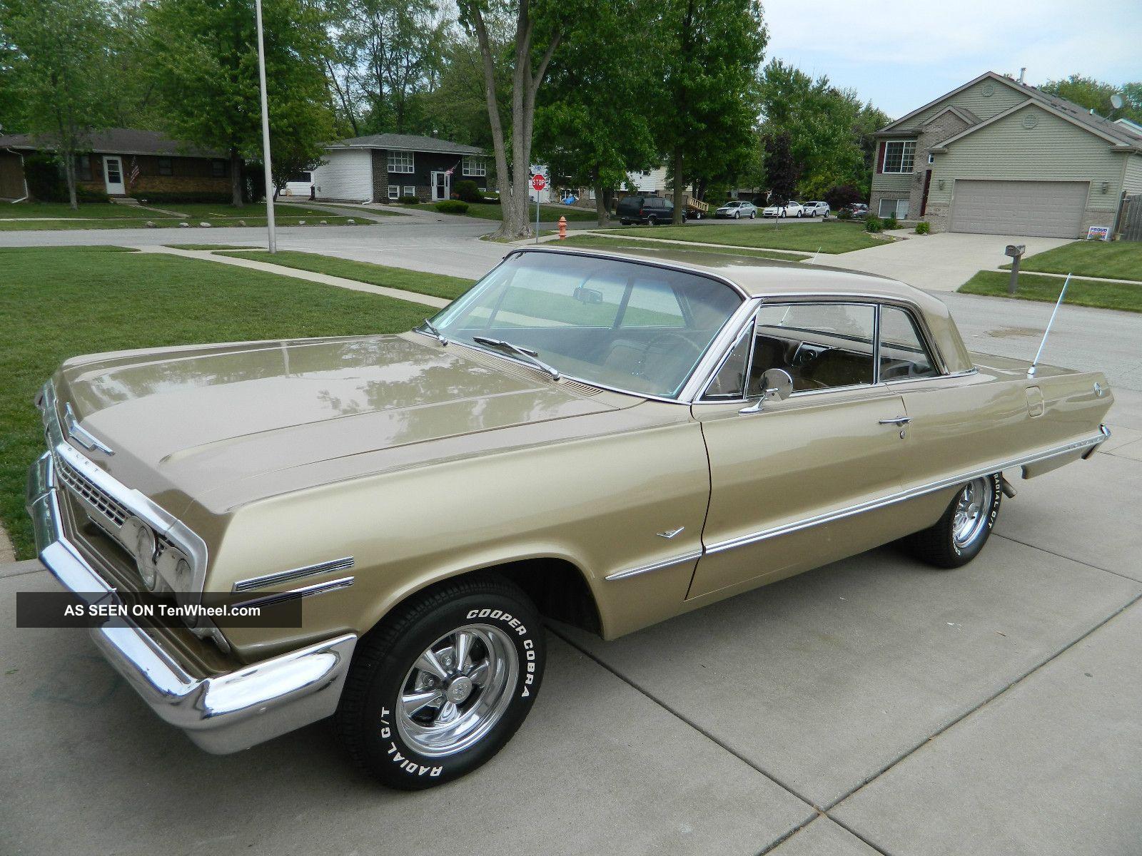 1963 Chevy Impala Anniversary Gold Impala photo