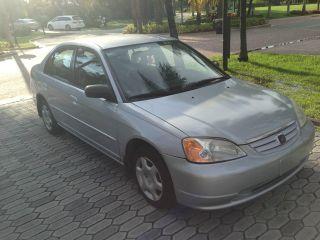 2002 Honda Civic Lx 4 Door - - Title - - photo
