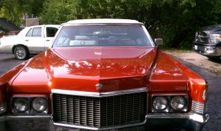 1970 Cadillac Coupe Deville Convertible photo