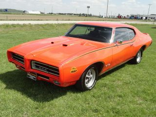 1969 Pontiac Gto Judge Phs Documented Ram Air Iii Working With Trades & Offers photo