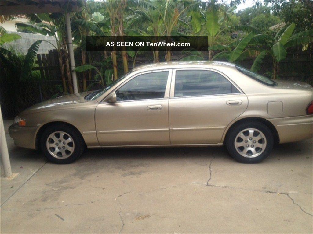 2000 Mazda 626 Lx Sedan 4 - Door 2  0l  16