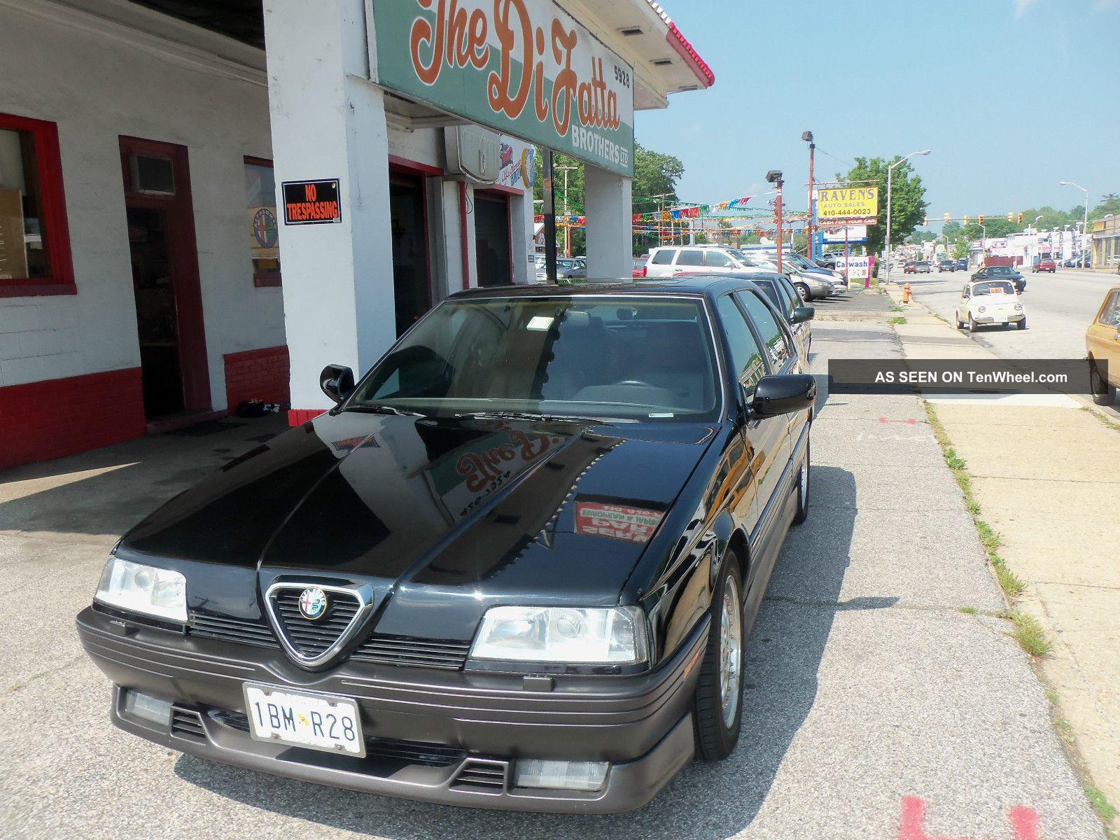 1994 Alfa Romeo 164 Quadrifoglio Sedan 4 - Door 3.  0l 164 photo