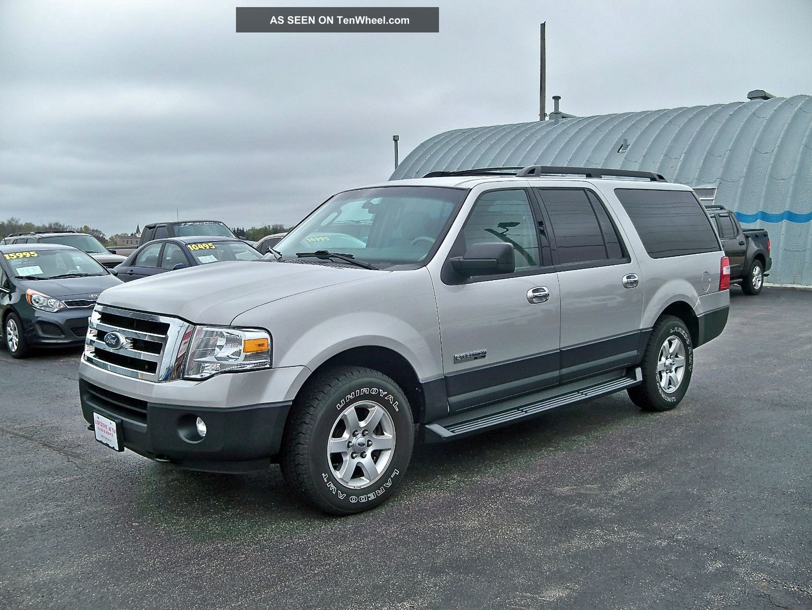 2007 Ford Expedition El Xlt 4x4 2 Owner No Accidents