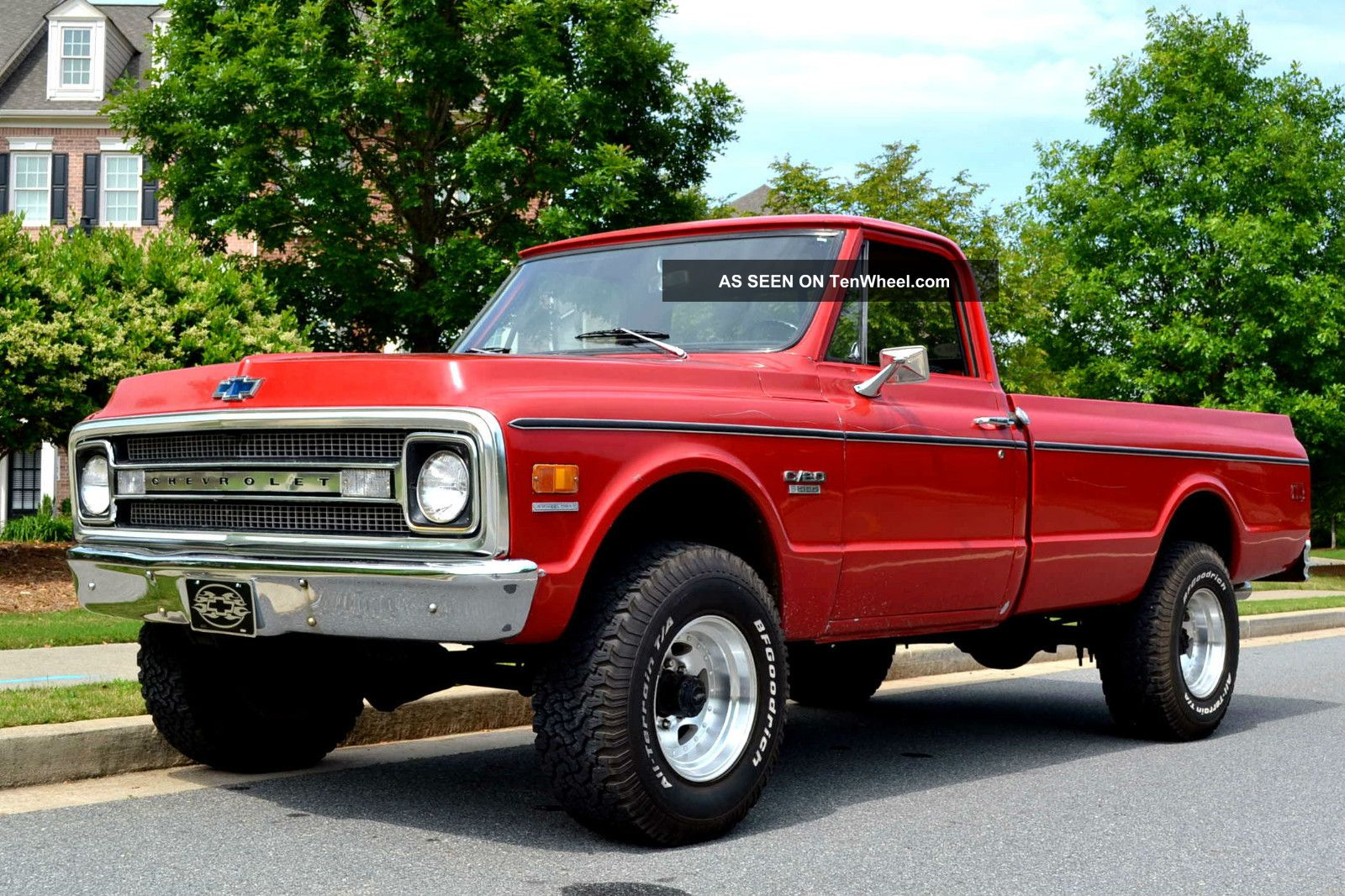 1969 3 / 4 Ton 4wd 4speed quot; Muscle Truck quot; Collectible Classic Chevy