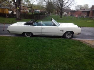 1967 Plymouth Fury Iii Convertible photo