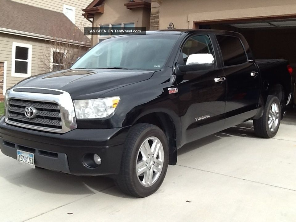2007 toyota tundra limited crew max pickup 4 door 5 7l. Black Bedroom Furniture Sets. Home Design Ideas