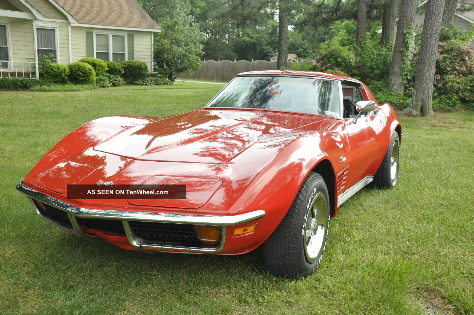 1972 Chevrolet Corvette Stingray 4 - Speed A / C Corvette photo